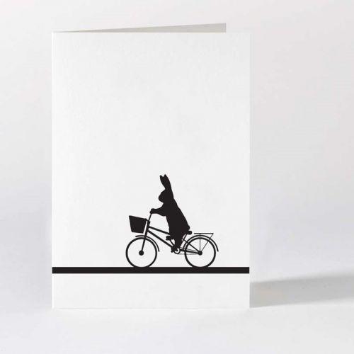 HAM / Černo-biele prianie City Bike Rabbit