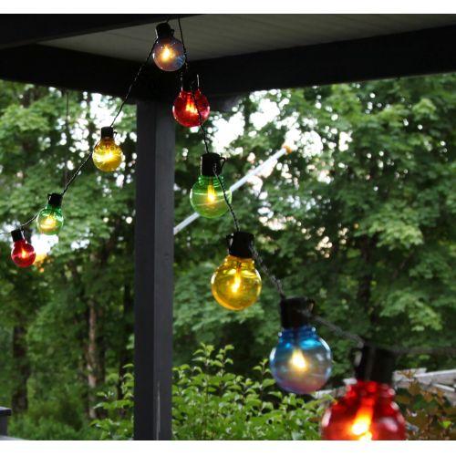 STAR TRADING / Svetelná LED reťaz Colour - 16 žiaroviek