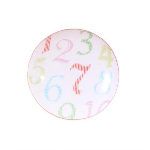 La finesse / Porcelánová úchytka Numbers