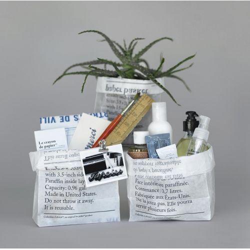 be-pôles / Úložné vrecko z voskového papiera La Corbeille en Papier - set 8 ks