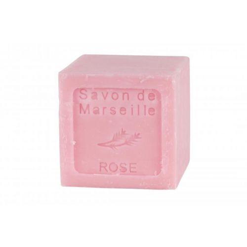 LE CHATELARD / Francúzske mydlo kocka 90 g - ruža