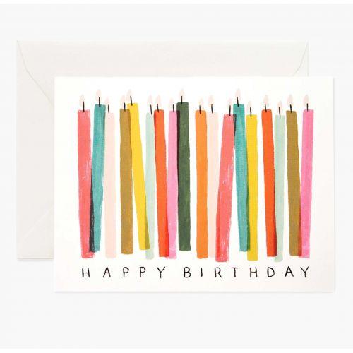 Rifle Paper Co. / Narodeninové prianie s obálkou Birthday Candles