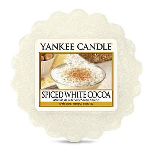 Yankee Candle / Vosk do aromalampy Yankee Candle - Spiced White Cocoa