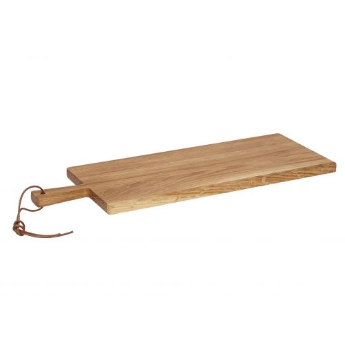 Hübsch / Dubové prkénko na krájení 20x56 cm