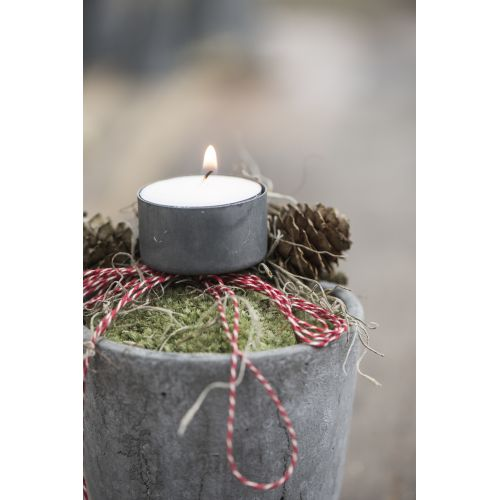IB LAURSEN / Šedý zapichovací svietnik na čajovú sviečku