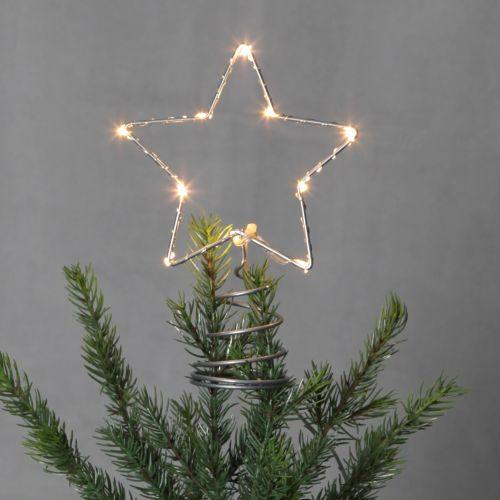 STAR TRADING / Svietiaca vianočná hviezda na stromček Topsy