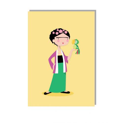 Lucie Kaas / Přání s obálkou Frida A5