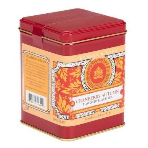 HARNEY & SONS / Čierny čaj Cranberry Autumn