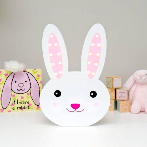 Smiling Faces / Svítící LED králíček