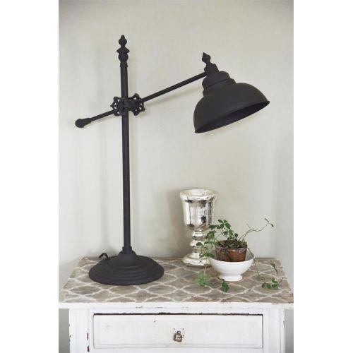Jeanne d'Arc Living / Stolná lampa Fine Dark Metal