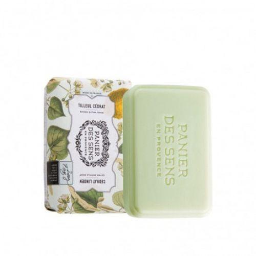 Panier des Sens / Extra jemné mydlo Cedrat Linden 200g