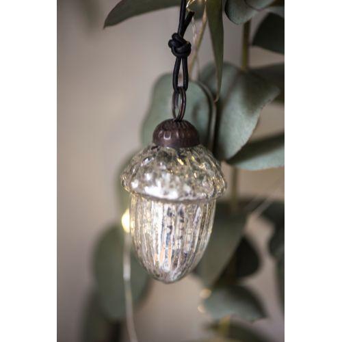 IB LAURSEN / Vianočná ozdoba Silver Acorn