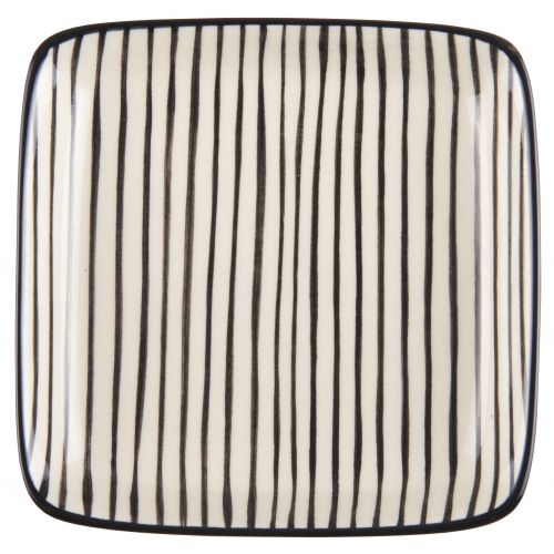 IB LAURSEN / Mini tácek Casablanca black stripe