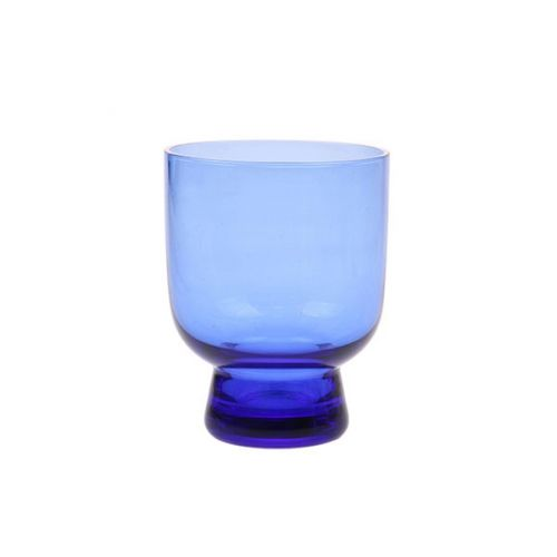 HK living / Pohárik Blue Cobalt Glass