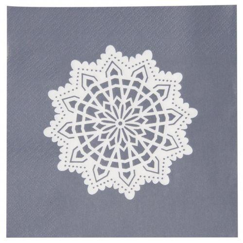 IB LAURSEN / Papierové obrúsky Big Snowflake