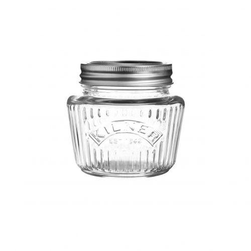 KILNER / Vrúbkovaný zavárací pohár 250 ml