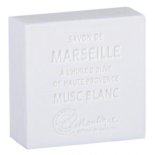 Lothantique / Marseillské mydlo White Musk 100g