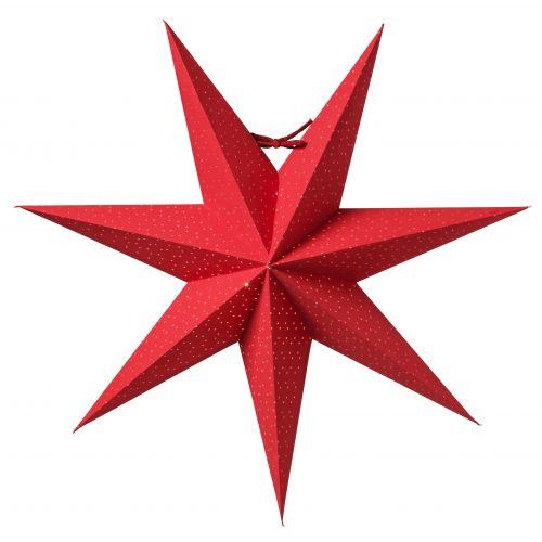 watt & VEKE / Závesná svietiaca hviezda Aino Red 44 cm