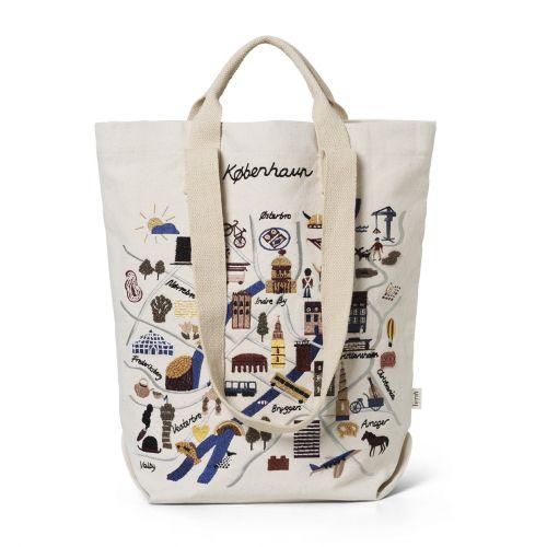 ferm LIVING / Bavlnená taška Copenhagen