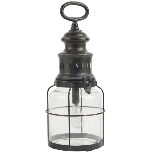 IB LAURSEN / Kovový lampáš LED Lantern Glass