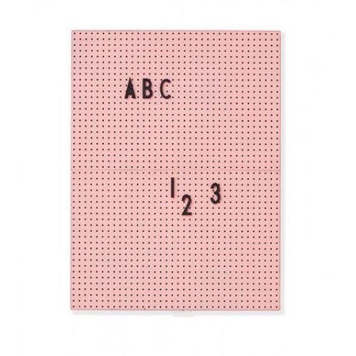 DESIGN LETTERS / Ružová ceduľa na odkazy Message Board A4