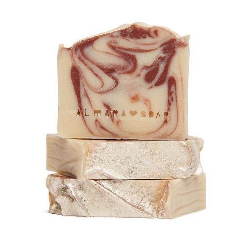 Almara Soap / Prírodné mydlo Ohnivý santal