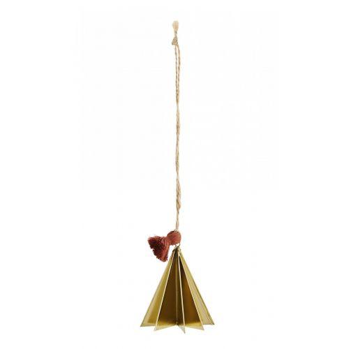 MADAM STOLTZ / Vianočná ozdoba Gold Christmas Tree