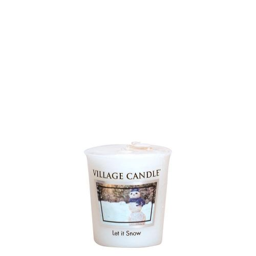 VILLAGE CANDLE / Votívna sviečka Village Candle - Let it Snow