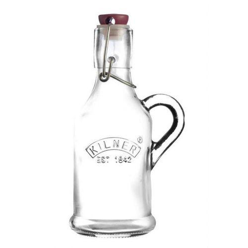 KILNER / Sklenená fľaštička s klipsom a uchom 200ml