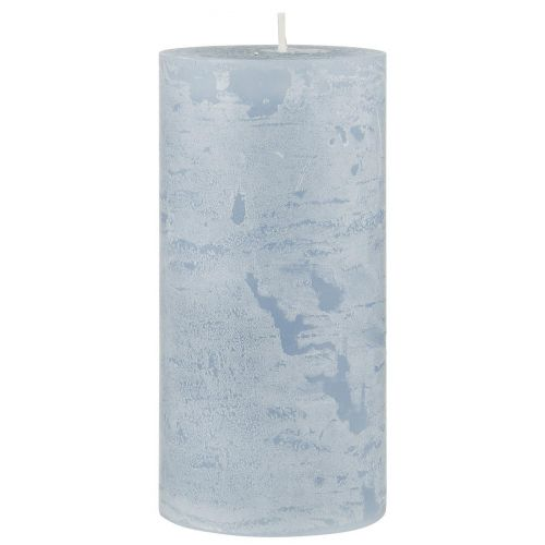 IB LAURSEN / Svíčka Tall Rustic Candle Light Blue