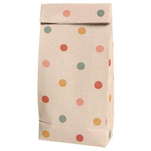 Maileg / Papierové vrecko Multi Dots - menšie