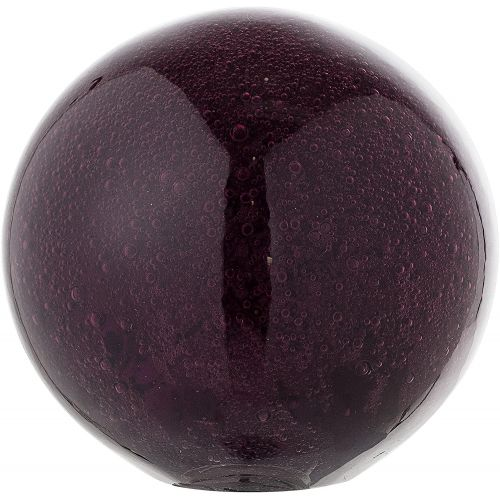 Bloomingville / Sklenené ťažidlo Ball Purple
