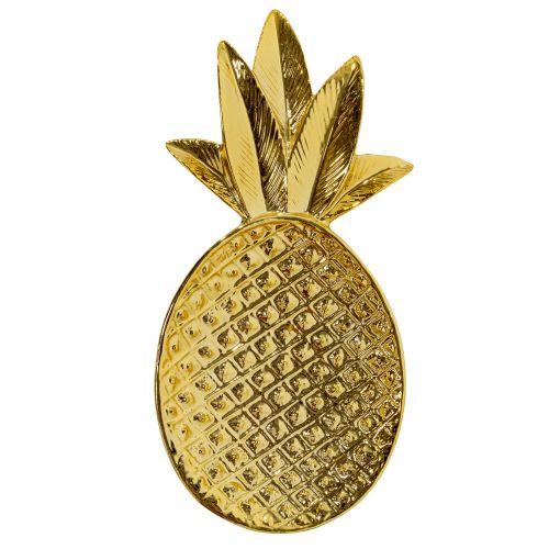 Bloomingville / Keramická tácka Pineapple Gold