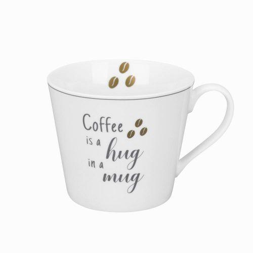 Krasilnikoff / Porcelánový hrnček Coffee Hug