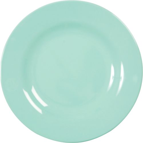 rice / Melamínový tanier Dark Mint - väčší