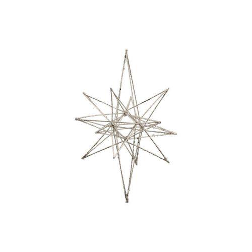 House Doctor / Vianočná dekorácia Star Champagne