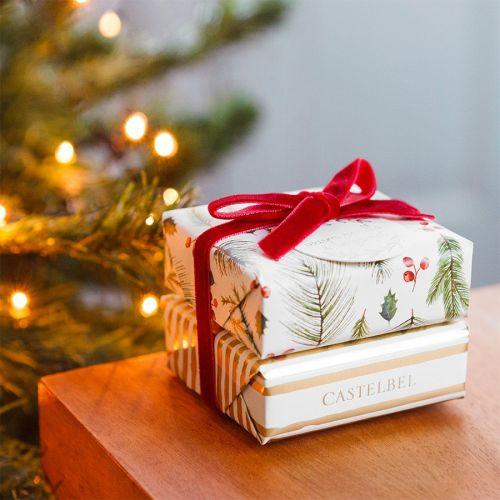 CASTELBEL / Darčeková sada vianočných mydiel Vanilla & Bergamot