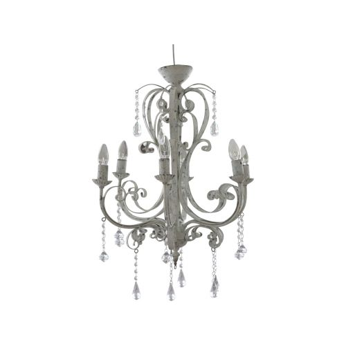 Chic Antique / Lustr Antic white - 134 cm