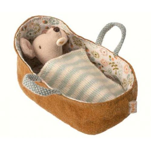 Maileg / Myšie bábätko v zavinovačke Baby mouse