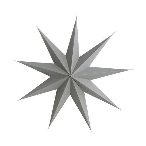 House Doctor / Závesná hviezda Grey 45 cm
