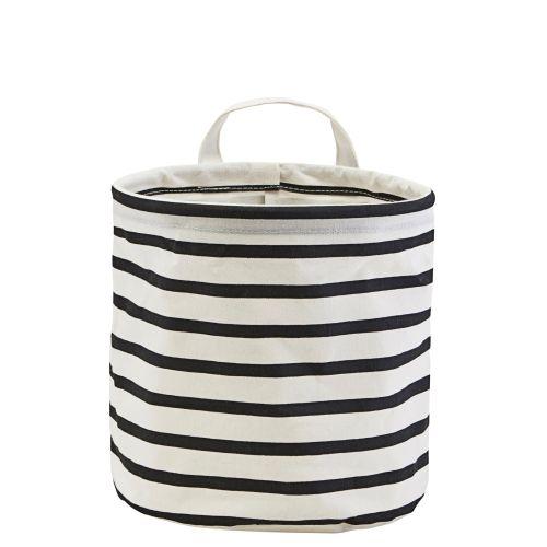 House Doctor / Textilý košík Stripes 20 cm