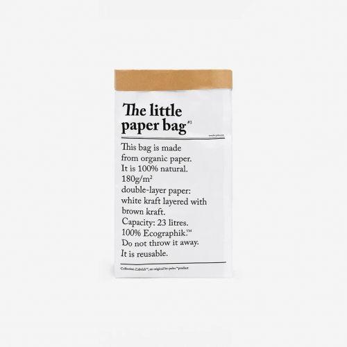 be-pôles / Papierové vrece Le Petit Sac En Papier 52 cm