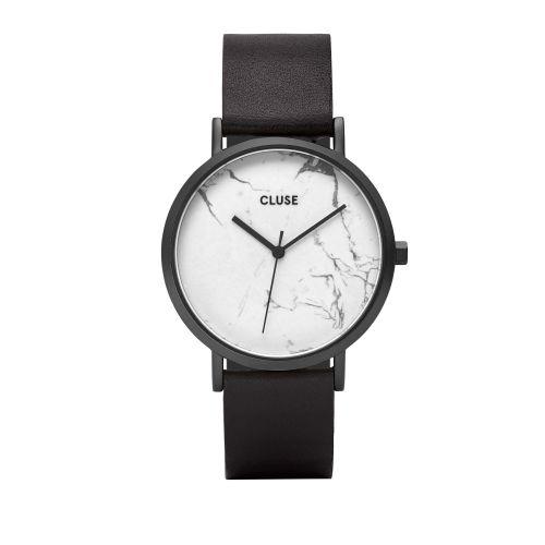 CLUSE / Hodinky Cluse La Roche Full Black/white Marble