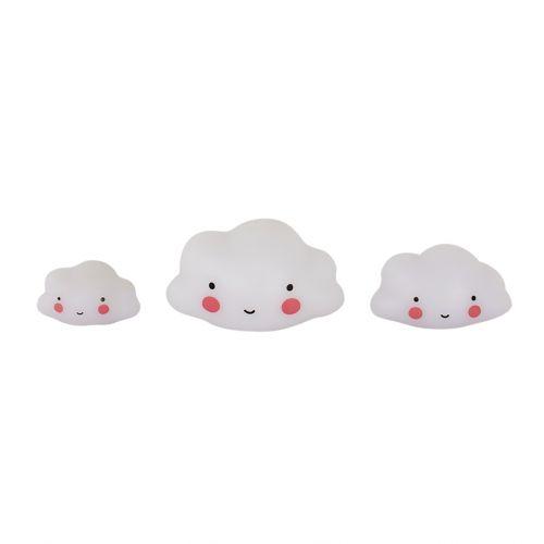 A Little Lovely Company / Mini plastová figurka Cloud - 3 ks