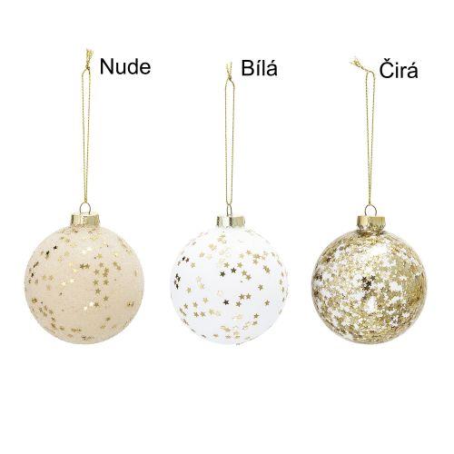 Bloomingville / Vianočná ozdoba Gold Stars & Glass