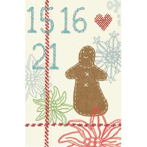 Maileg / Vianočné prianie v obálke- set 4 ks