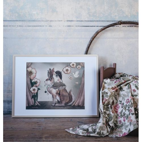 MRS. MIGHETTO / Plagát Miss Poppy 40 x 50 cm