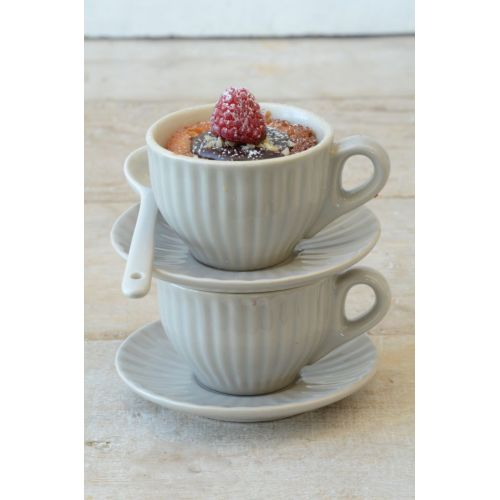 IB LAURSEN / Šálka s podšálkou Mini Mynte latte