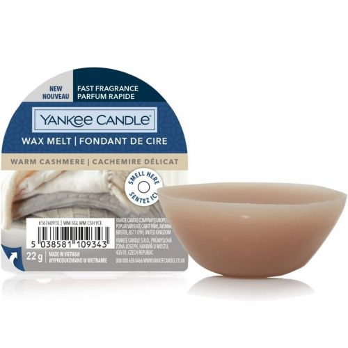 Yankee Candle / Vosk do aromalampy Yankee Candle 22 g - Warm Cashmere