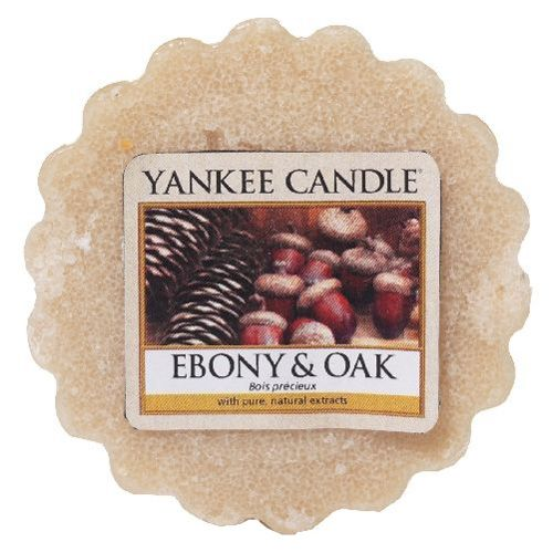 Yankee Candle / Vosk do aromalampy Yankee Candle - Ebony & Oak